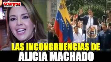 alicia machado cambia de opinión y así agradece a donald trump. (video)